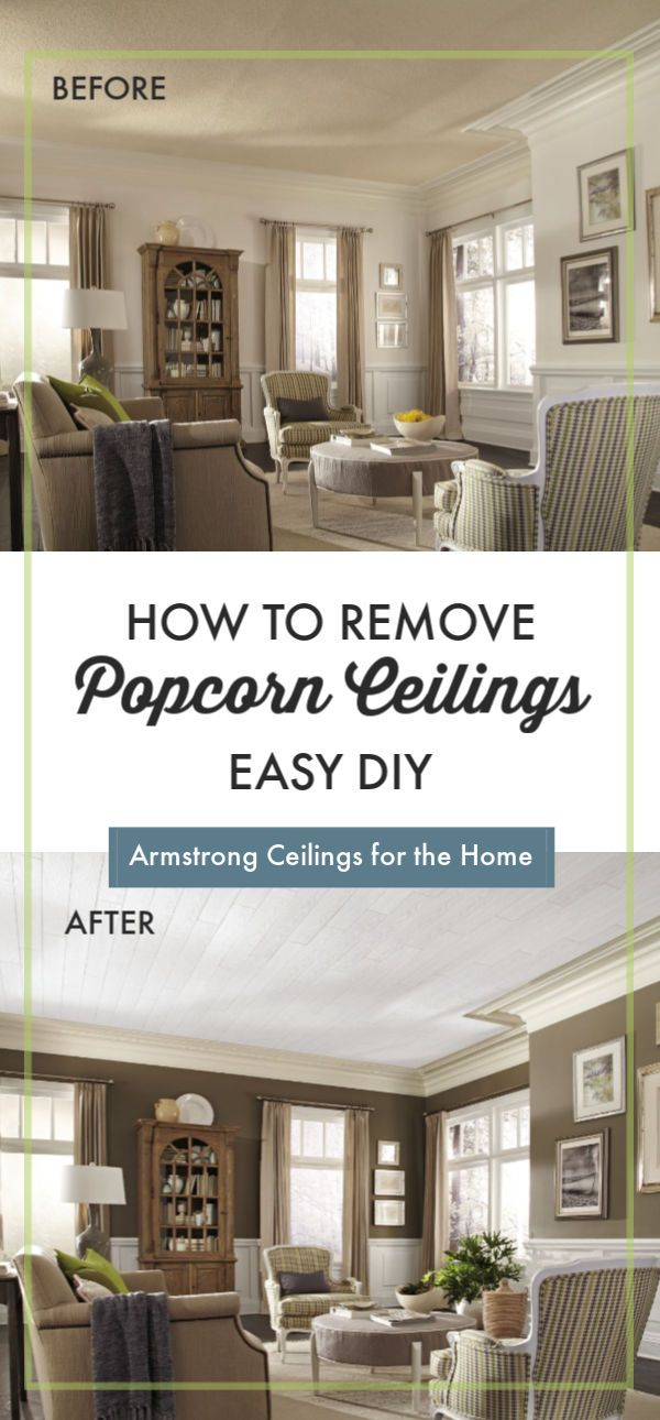 How To Remove A Popcorn Ceiling In 2020 Popcorn Ceiling