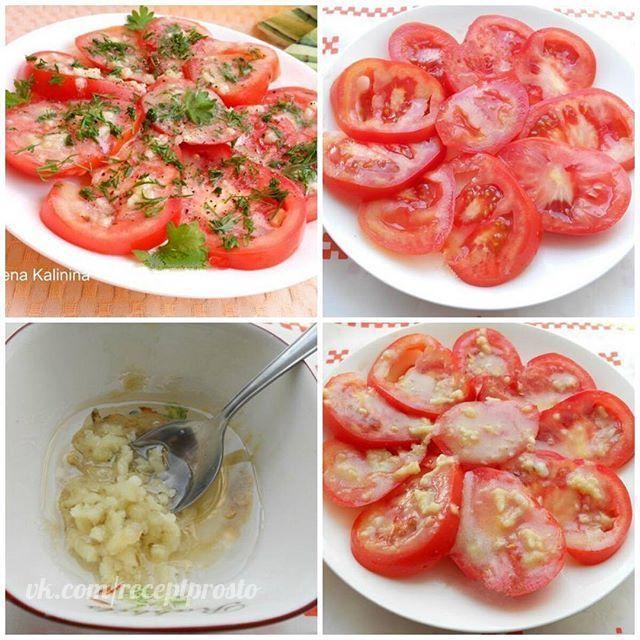 Маринованные помидоры за 30 минут.  Маринованные помидоры за 30 минут - отличная и очень вкусная экспресс-закуска для ужина или для праздничного стола. Готовится быстро и просто. Попробуйте, Вам обязательно понравится!  Для приготовления понадобится:  помидоры свежие - 2-3 шт.; горчица готовая - 0,5 ч. л.; соль (желательно морская крупная) - 0,5 ч. л.; сахар - 0,5 ч. л.; уксус яблочный - 1 ч. л.; масло оливковое (или растительное) - 2 ст. л.; чеснок - 2-3 зубчика;  перец черный молотый - по…