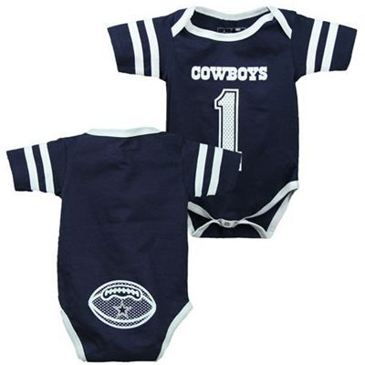 Dallas Cowboys #1 Infant Bodysuit
