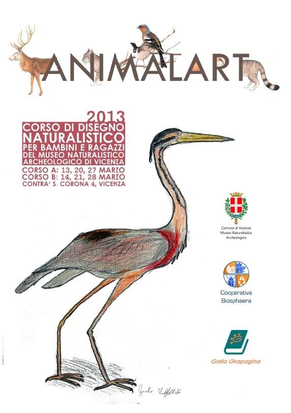 ANIMALART - Corso di disegno naturalistico per bambini e ragazzi / Museo Naturalistico Archeologico di Vicenza