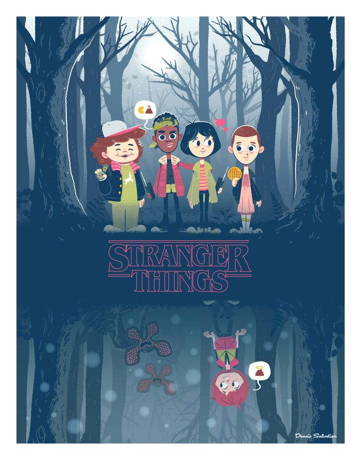 Perfect Strangers - Stranger Things by Dennis Salvatier