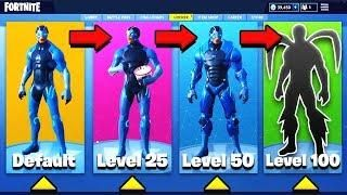 how to upgrade your skin in fortnite battle royale omega skin - omega fortnite upgrade