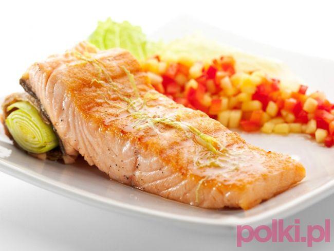 Łosoś z piekarnika - przepis -Przepisy kulinarne - przepis na #polkipl #dinner #easter #wielkanoc #polishcuisine