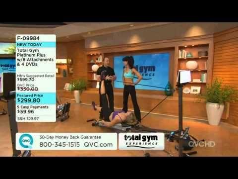 Total Gym Platinum Plus on QVC - YouTube