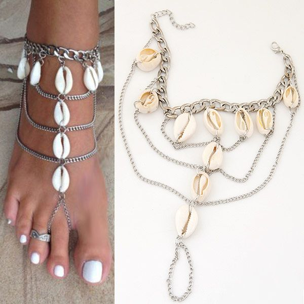 Like and Share if you want this  Fashion Shell Anklets silver plated Chain Bracelet Beach Jewelry Ethnic Anklet Bracelet for women     Tag a friend who would love this!     FREE Shipping Worldwide     Buy one here---> http://jewelry-steals.com/products/fashion-shell-anklets-silver-plated-chain-bracelet-beach-jewelry-ethnic-anklet-bracelet-for-women/    #womens_watches
