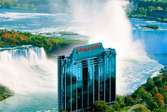 Sheraton Niagara Falls Hotels: Sheraton on the Falls... Most beautiful view from our balcony on our honeymoon