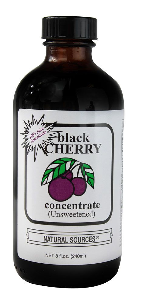 Natural Sources Black Cherry Concentrate Blend Unsweetened