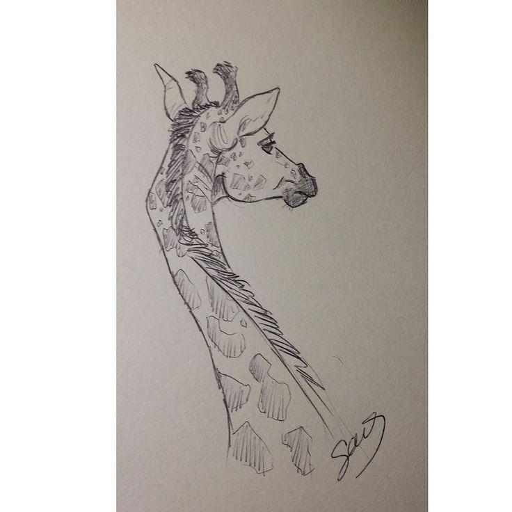 Made by me #disegno #draw #drawing #disegno #paint #painting #photooftheday #instaminchia #animal #giraffe #giraffa #africa #artcommunity #art #artistic #artcommunity #artista #artistcommunity #colors #pen #madebyme by _spada