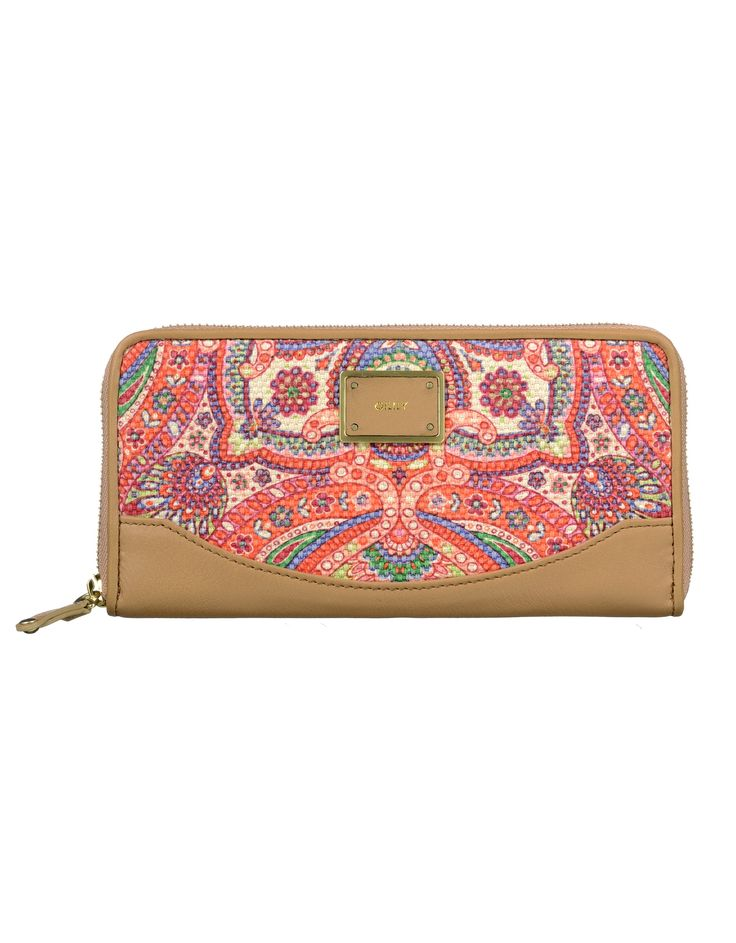 OILILY Women's Wear - Spring Summer 2014 - Travel wallet 'Dutch Leather'