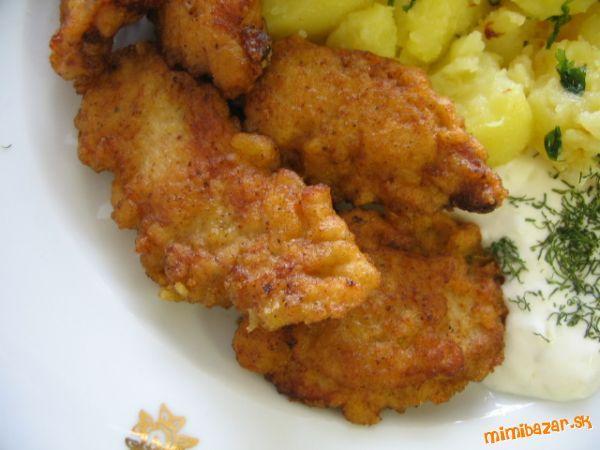 Marinované kuracie nugetky v zemiakovom cestičku