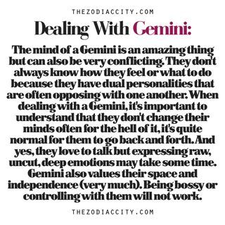 What you need to know about Gemini women. For more zodiac fun... | Zodiac City | Bloglovin'