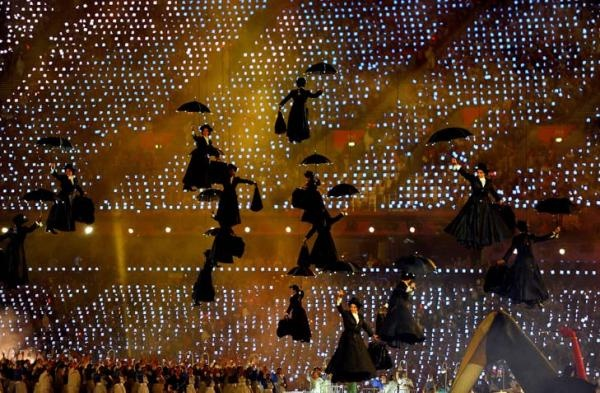 London 2012 Opening Ceremony: Mary Poppins to the rescue!