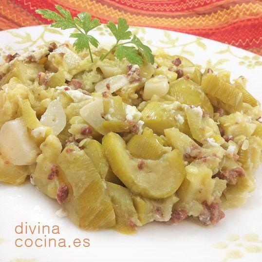 Calabacines salteados con jamón y queso » Divina CocinaRecetas fáciles, cocina andaluza y del mundo. » Divina Cocina