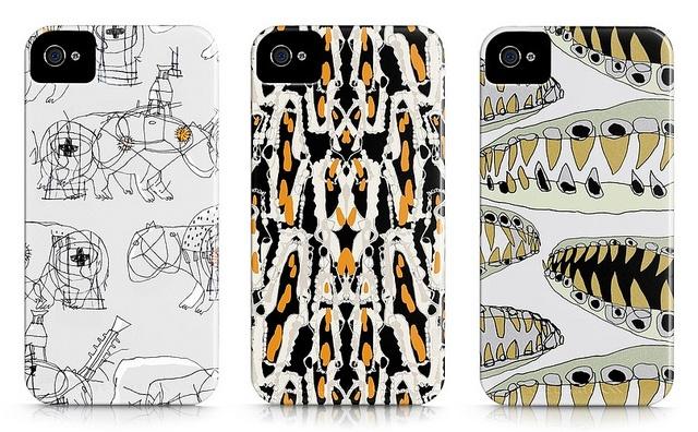 Bites iPhone Cases by Todo Muta Studio    Spanish design firm Todo Muta Studio