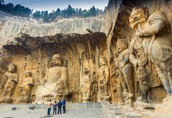 Luoyang, China - Longmen Grottoes
