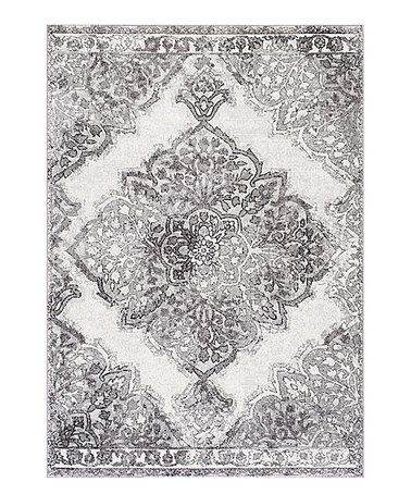 Loving this Gray Vintage Medallion Rosendo Rug on #zulily! #zulilyfinds