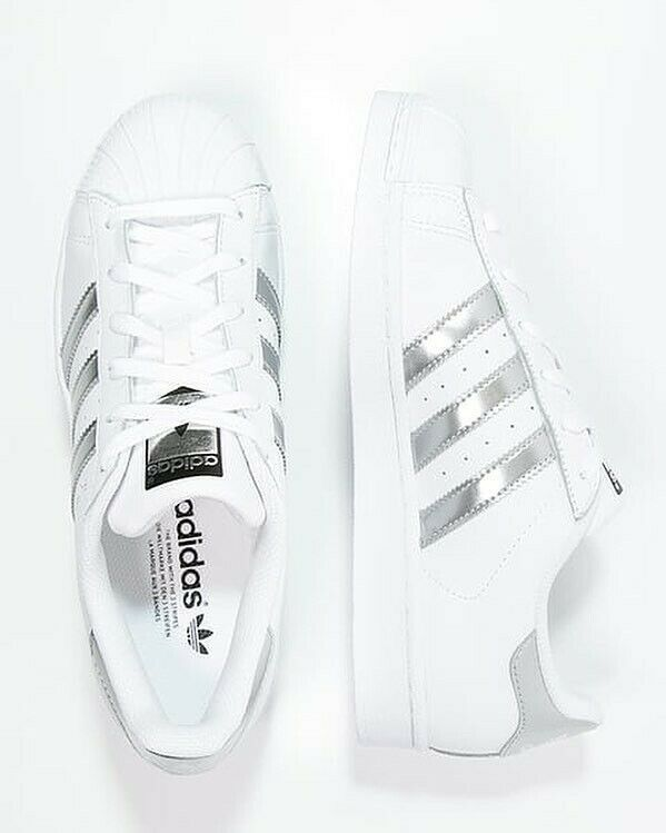 NEW ADIDAS SNEAKERS MENS SUPERSTAR SHOES AQ3091 WOMEN WHITE