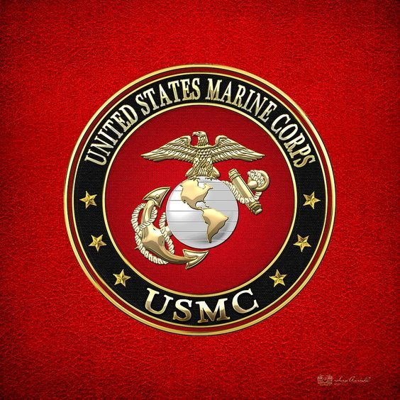 Marine Corps Symbols Clip Art | Marine Corps - Usmc Emblem Special Edition Digital Art - U.s. Marine ...