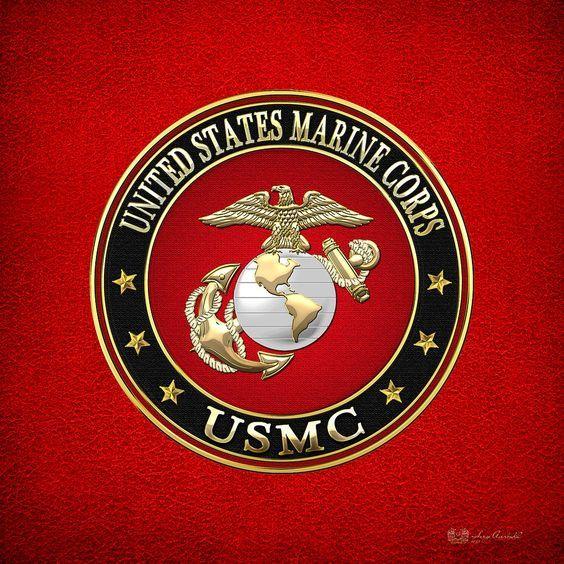 Marine Corps Symbols Clip Art   Marine Corps - Usmc Emblem Special Edition Digital Art - U.s. Marine ...