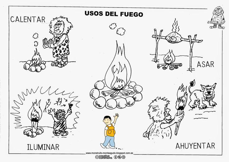 Usos del fuego en la prehistoria