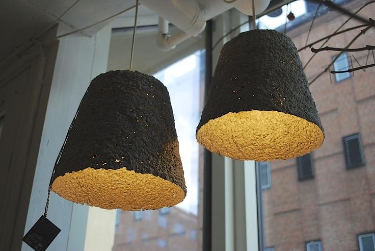 Fragile lamp - By Pernille Rask. www.designkollektivet.dk