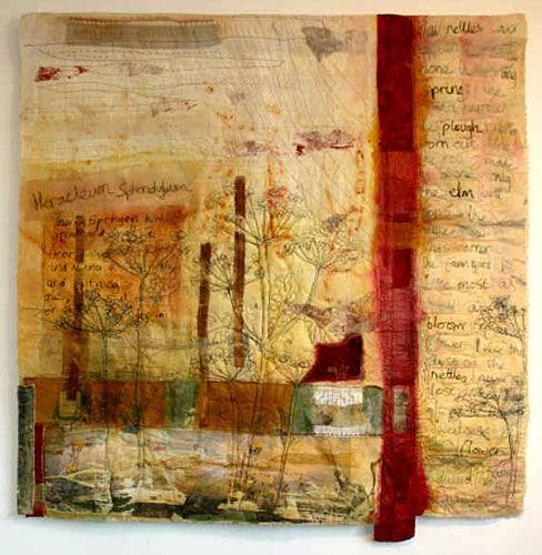 textile hanging -- Cas Holmes