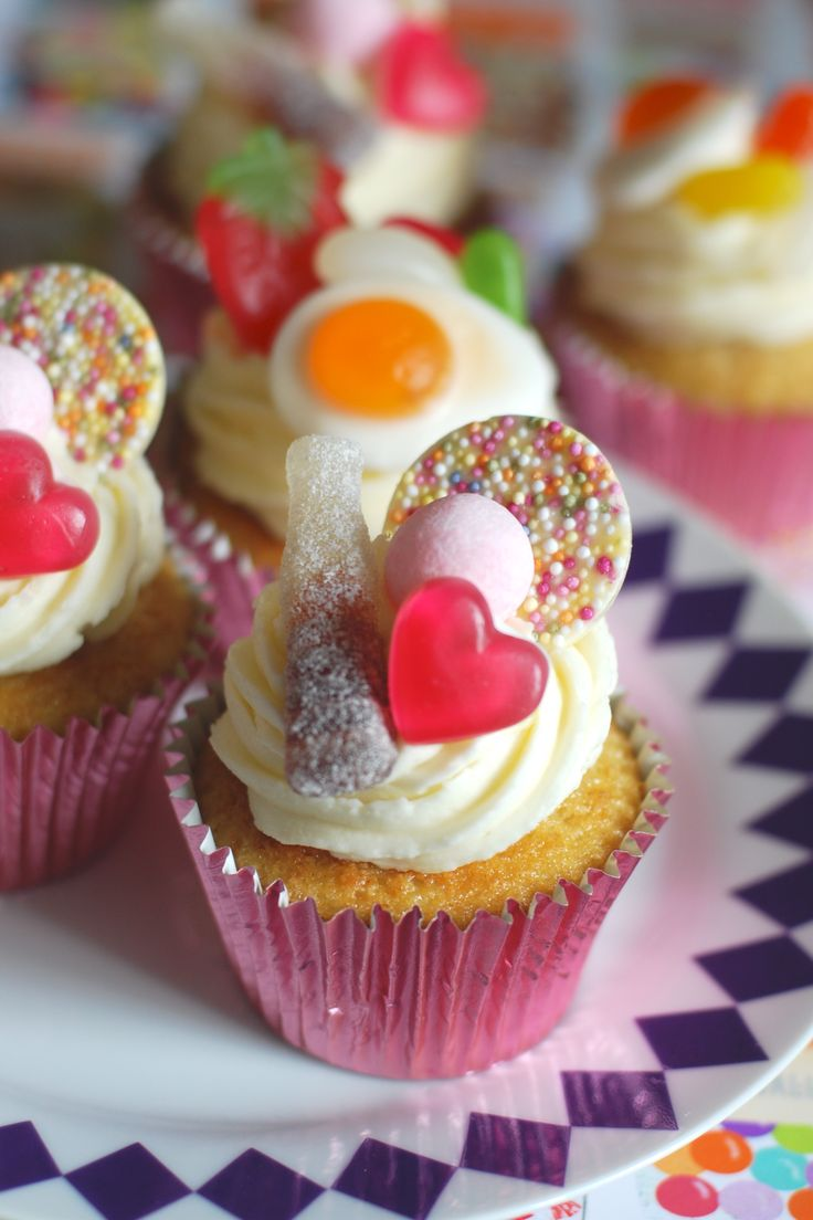 Pick 'N' Mix Cupcakes