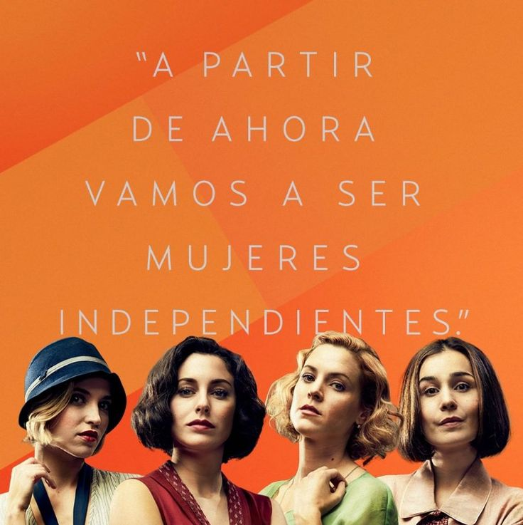 Ya están aquí #LasChicasDelCable contrata Orange TV Cine y Series y disfruta de Netflix #FelizMartes