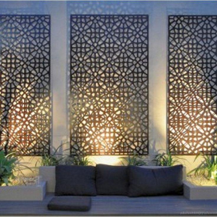 88+ DIY Simple Outdoor Wall Decorations Ideas – Philanthropyalamode.com | Popular Home Design