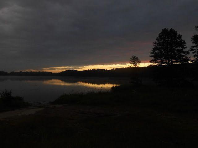 Moje pasje : Świt nad jeziorem Mosąg