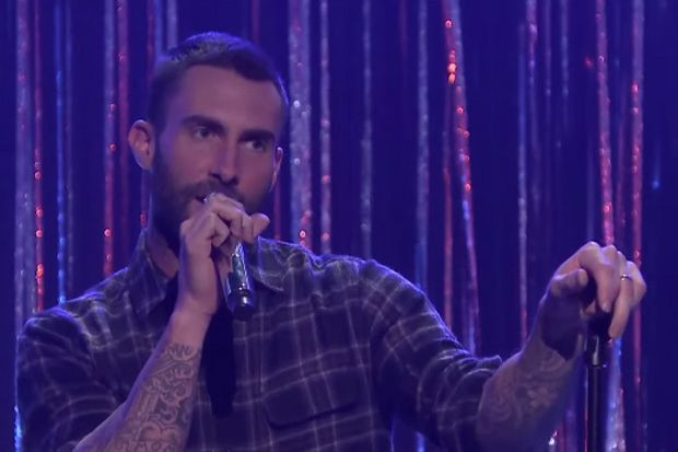 That Time Adam Levine Forgot the Words to a Britney Spears Song