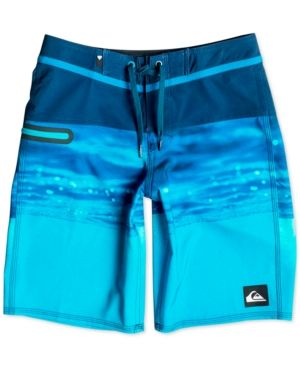 Quiksilver Hold Down Swim Trunks, Big Boys (8-20) - Blue 30