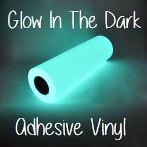 Glow In The Dark Adhesive Vinyl 12x12 Sheets Halloween Vinyl RTape GlowEfx Craft Vinyl Halloween Dec