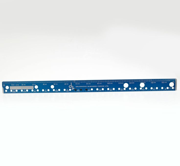 """Aluminium Double Sided Business Form Design and Layout Ruler 16"""" Long by vtgwoo on Etsy"""