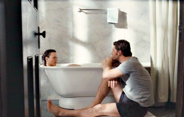 Rachel McAdams-Eric Bana still from Time Traveler's Wife....  I especially liked the book . .