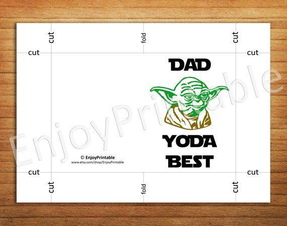 Star Wars Yoda Best Card Funny Thank You Birthday For Boyfriend Or Girlfriend Anniversary