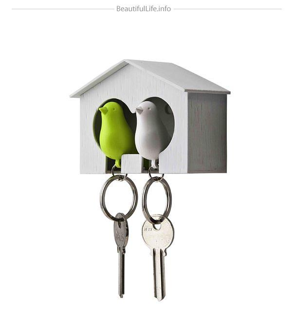 DUO Sparrow Key Ring