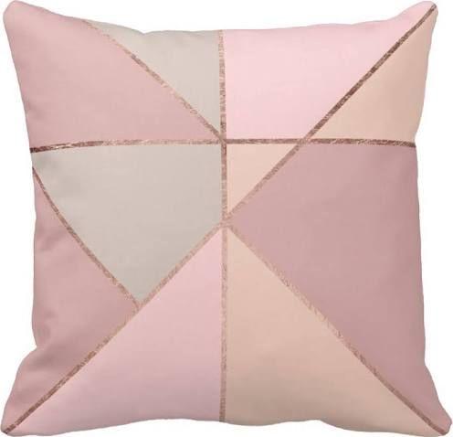 dusky pink cushions