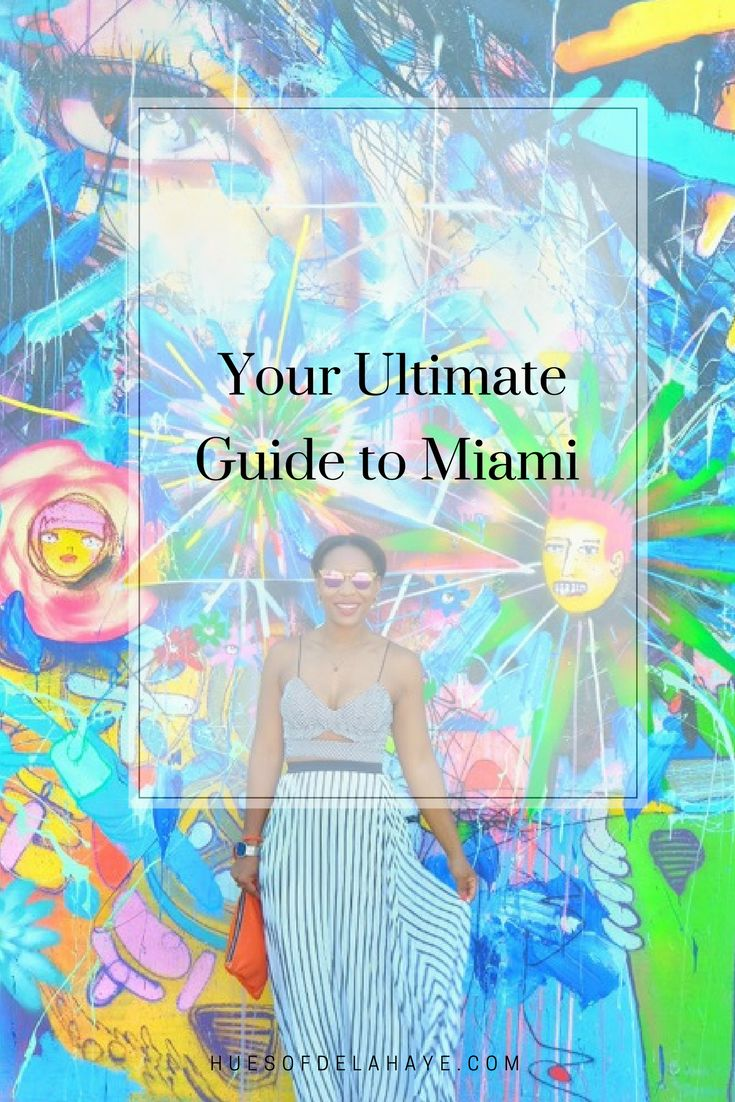 Your Ultimate Guide to Miami. Will Smith said it the best 'Party in the city where the heat is on. Miami definitely has that heat, that sexiness; whether it's from the Cuban people, the food