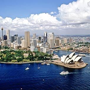 Australia...down under :)