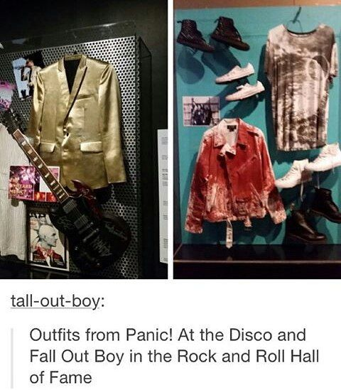 I freaked out when I saw those. But I couldn't find anything with MCR besides a magazine.