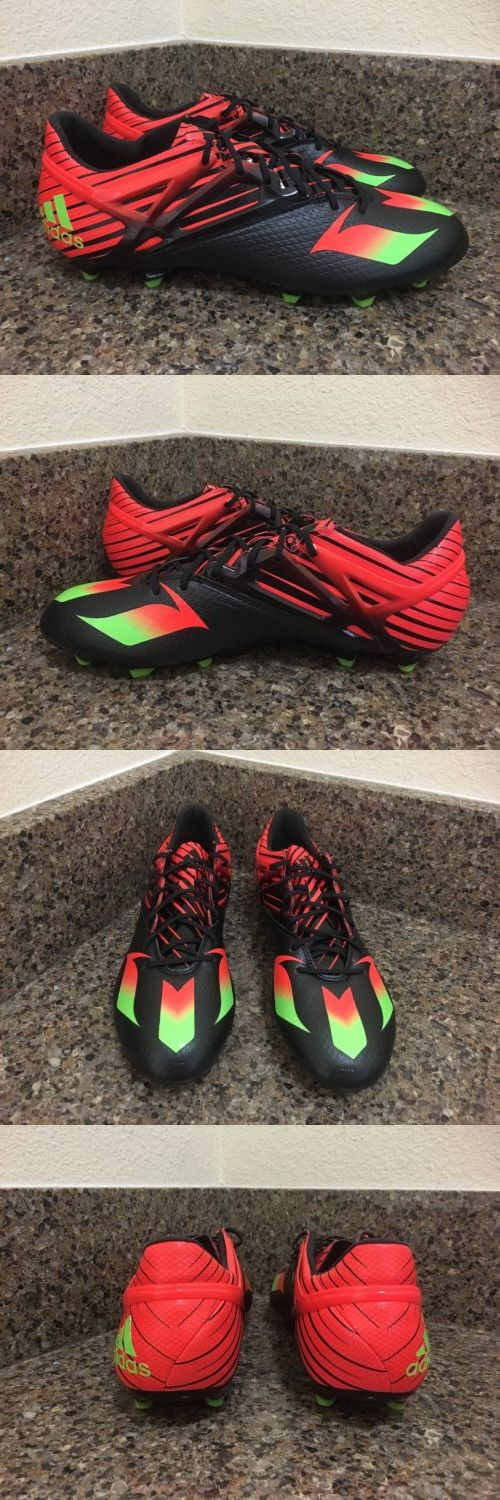 Men 109133: Adidas Messi 15.1 Fg Soccer Cleats Black Orange Green Size 9 -> BUY IT NOW ONLY: $69.99 on eBay!