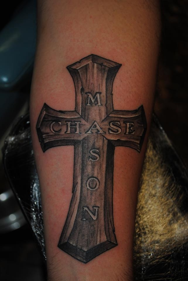 33 best Tattoos images on Pinterest | Crosses, Tattoo ideas and Wooden cross tattoos