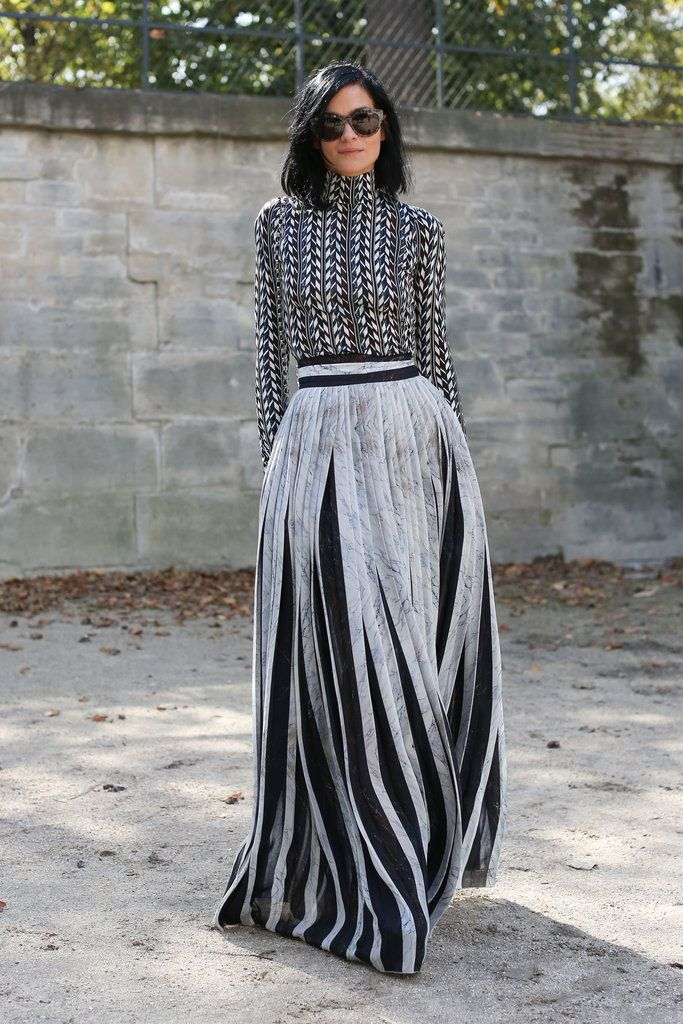 Paris Fashion Week Street Style - Leigh Lezark...there is something amazing about this look