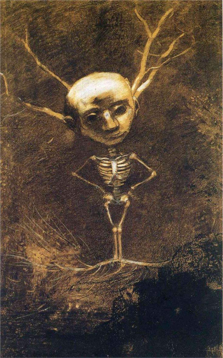 Odilon Redon  Spirit of the Forest
