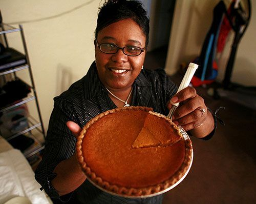 Malissa Basnight is known for her sweet potato pie