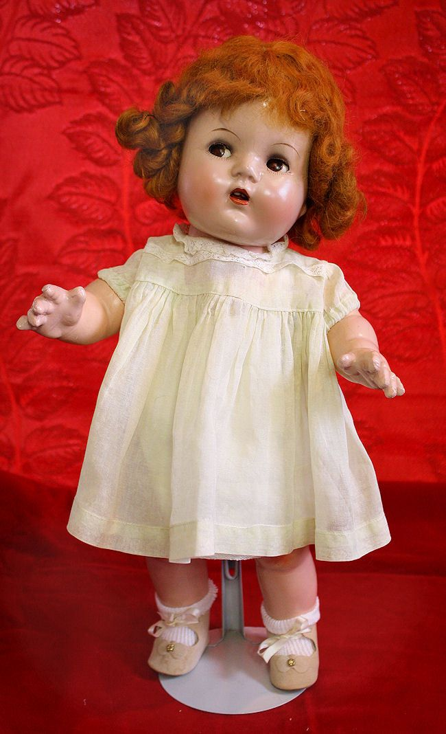 Composition Ideal Cuddles In Vintage Dress Baby Dolls