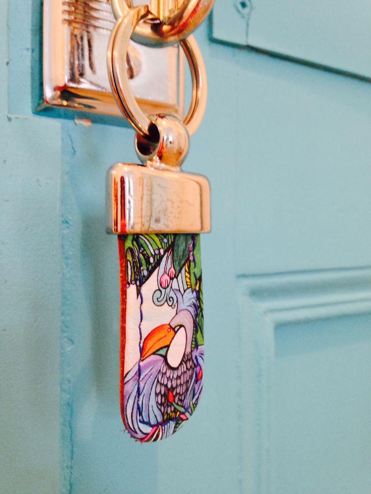Key lane // handmade in Germany // 100% leather // www.getcuore.com