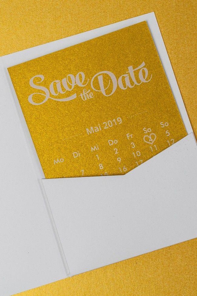 Einlegekarten Fur Pocketfolds A6 Gold Miomodo De Shop Geschenke