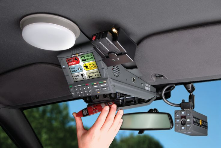 Watch Guard in car video system